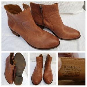 Lucky Brand Ankle Booties, Size 9.5